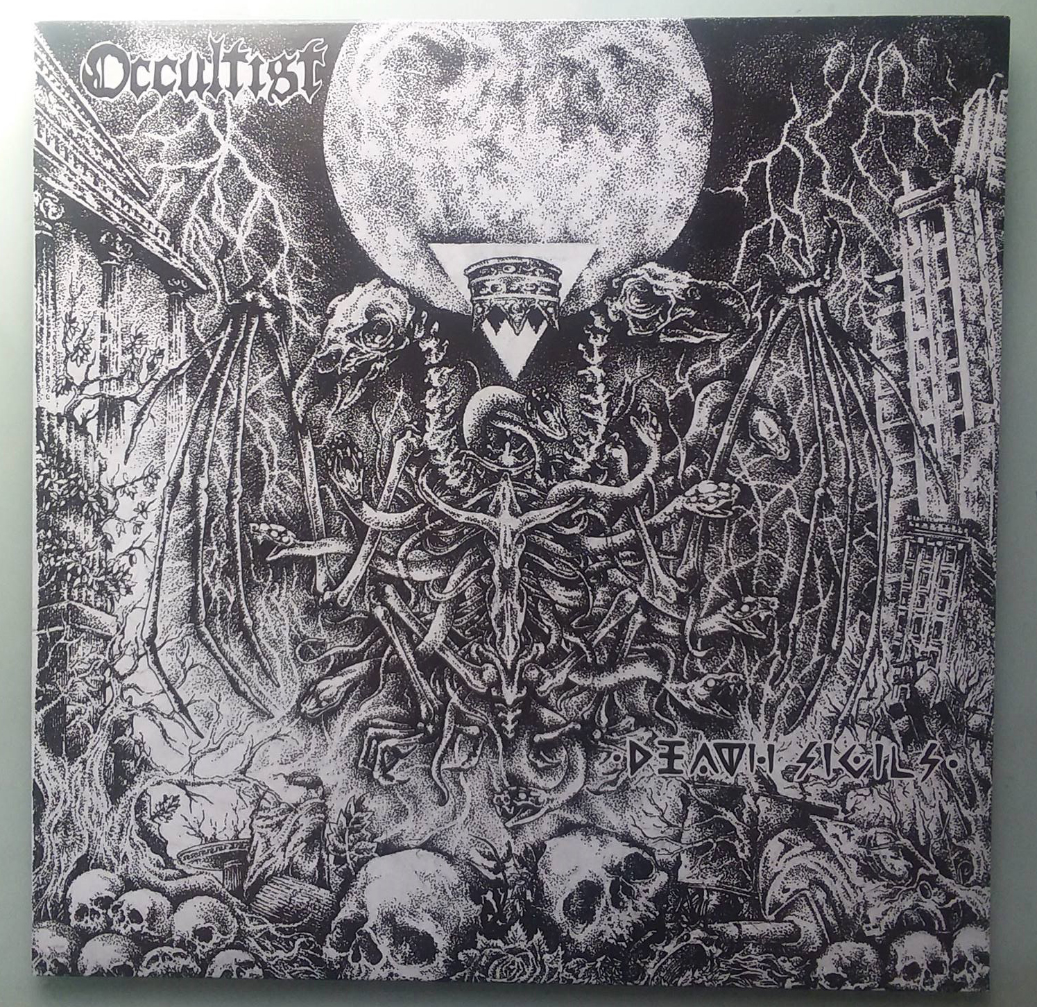 Occultist - Death Sigils (Primitive Way Records, 2013, Red Vinyl)