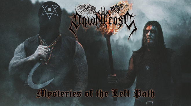 Downcross – Mysteries of the Left Path (Scary Torch Black Metal)