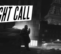 Night Call (Text-Based Noir Taxi Tedium)