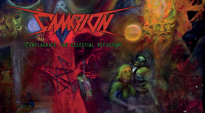 Cambion – Conflagrate the Celestial Refugium (Conundrum Inducing Technical Death Metal)