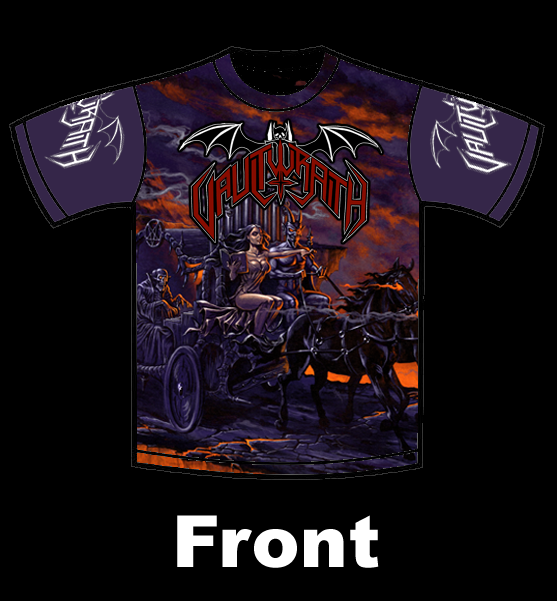 Vaulwraith - Death is Proof of Satan's Power LIMITED EDITION SHIRT